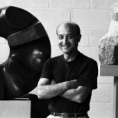 Isamu Noguchi, New York City, June 1964