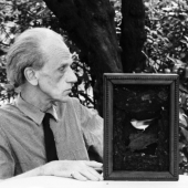 Portrait of Joseph Cornell, Flushing, Queens, 1967