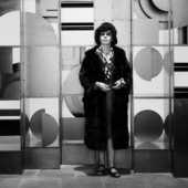 Portrait of Louise Nevelson, New York City, April 1967