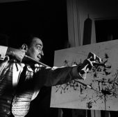 Portrait of Salvador Dali, New York City, May 1965