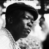 Portrait of John Lee Hooker, Newport, Rhode Island, July 1963