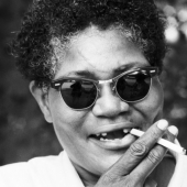 Portrait of Big Mama Thornton, Newport, Rhode Island, July 1967