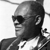 Portrait of Reverend Gary Davis, New York City, February 1964