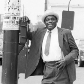 Portrait of Willie Dixon, Chicago 1989