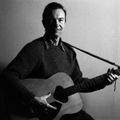 Portrait of Pete Seeger, New York City, April 1962