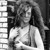 Portrait of Janis Joplin, Hotel Chelsea, New York City, June 1970