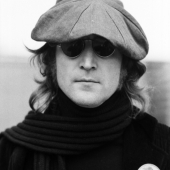 Portrait of John Lennon, New York City, October 1974
