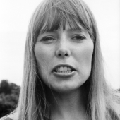 Portrait of Joni Mitchell, Newport, Rhode Island, July 1967