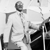 Eubie Blake at the Newport Jazz Festival, July 1971