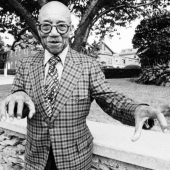 Portrait of Eubie Blake, Newport, Rhode Island, July 1971