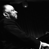 Portrait of Count Basie, New Years Eve, New York City, 1963