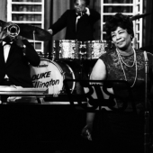 Duke Ellington, Ella Fitzgerald, and the Duke Ellington Orchestra, New York City, 1964