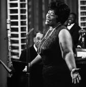 Duke Ellington and Ella Fitzgerald, New York City, 1964