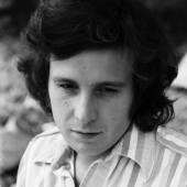 Portrait of Don McLean, Garrison, New York, 1972
