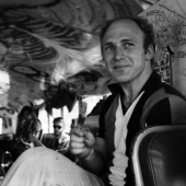 Further!: Ken Kesey aboard his psychedelic bus, Further!, New York City, June 1964
