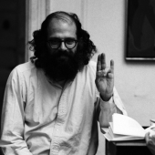 Portrait of Allen Ginsberg, New York City, 1969