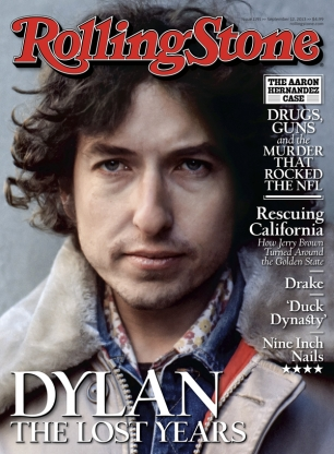 Bob Dylan on the Cover of Rolling Stone