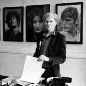 Portrait of Andy Warhol, New York City, May 1971