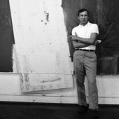 Jasper Johns, New York City, January 1966