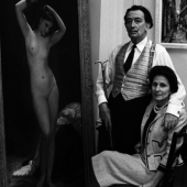 Portrait of Salvador and Gala Dali, New York City, May 1965
