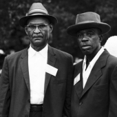 Gospel Blues Summit: Robert Wilkens and Skip James at the Newport Folk Festival in July 1963