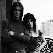 Portrait of Sam Shepard and Patti Smith, Hotel Chelsea, May 1971