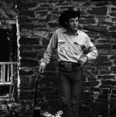 Portrait of Ramblin\' Jack Elliott, New York City, August 1964