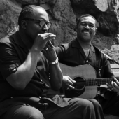 Sonny Terry and Brownie McGhee in New York City, May 1959