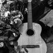 Folk Portrait: Pete Seeger\'s Guitar, Beacon, New York, 1958