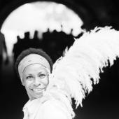 Portrait of Betty Carter, New York City, July 1974