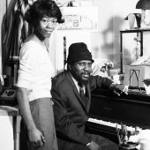 Nellie and Monk: Nellie and Thelonious Monk at Home, New York City, 1963