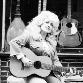Portrait of Dolly Parton, New York City, 1976