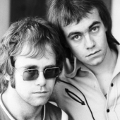 Portrait of Elton John and Bernie Taupin, New York City, 1970
