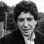 Portrait of Leonard Cohen, Newport, Rhode Island, 1967