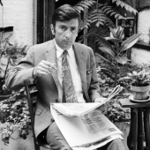 Portrait of Gay Talese, New York City, June 1969