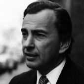 Portrait of Gore Vidal, New York City, March 1969