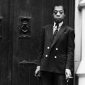Portrait of James Baldwin, New York City, May 1968