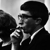 Portrait of John Updike, New York City, March 1964